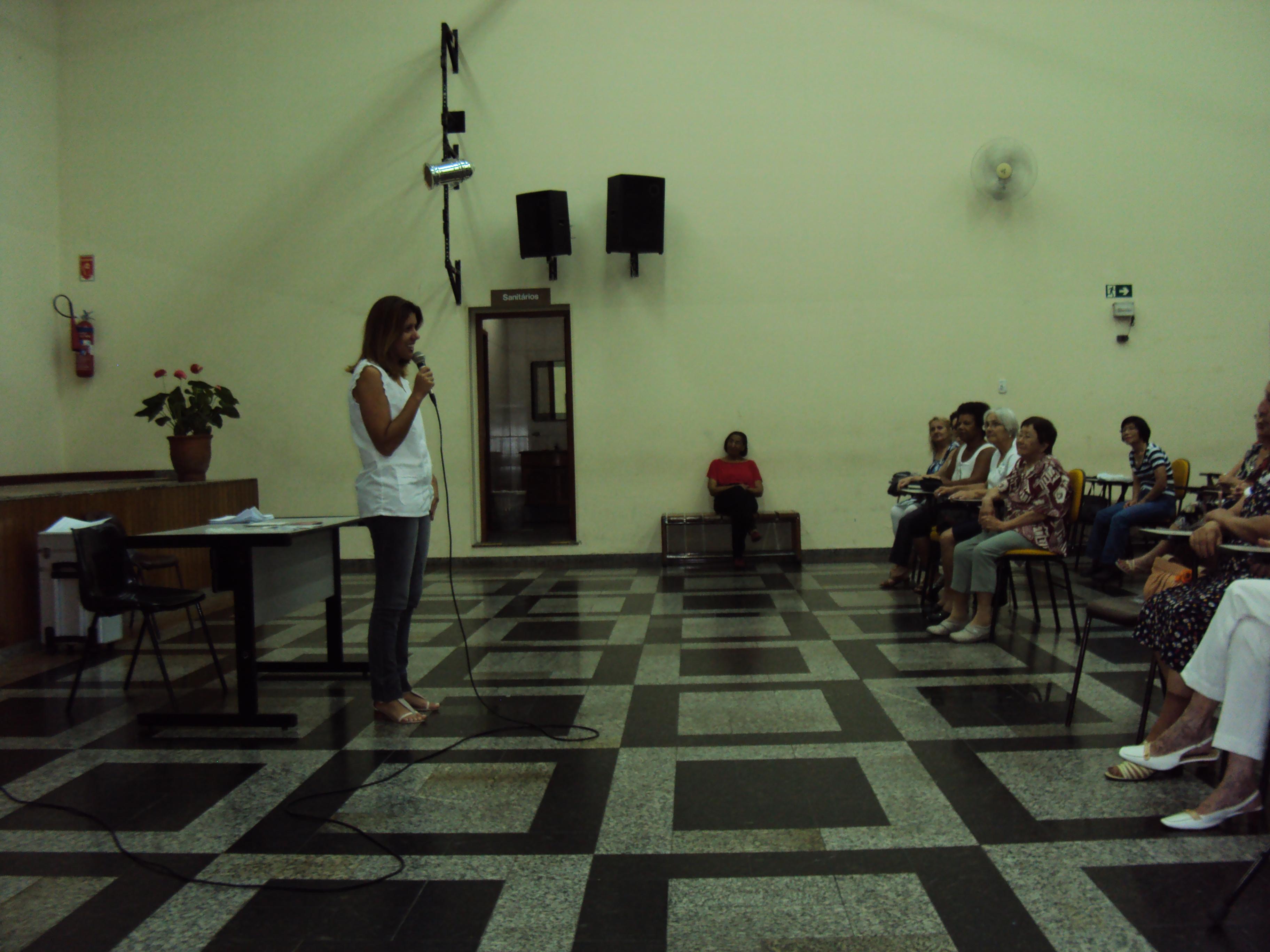 Palestra Design de Sobrancelhas Projeto Bem Viver São Judas